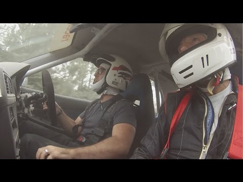 FIRST TIME DRIVING A RALLY CAR | Race and relax in France.com