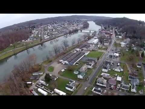 Malta and McConnelsville, Ohio...    Fly Over
