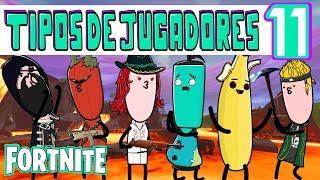 FORTNITE - PARODIA JUGADORES 11