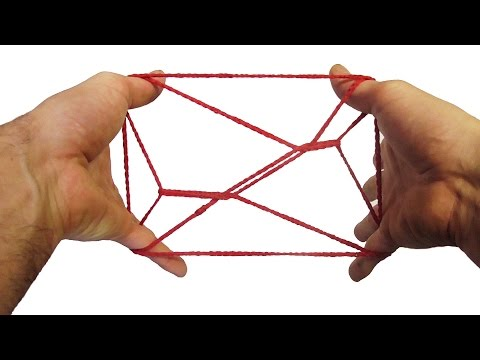 String Tricks! How To Do A Man On A Bed String Figure