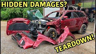 Rebuilding A Wrecked 2018 Jeep Trackhawk Part 4