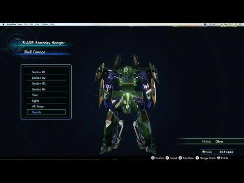 Xenoblade Chronicles X - ARES 90 Skell showcase