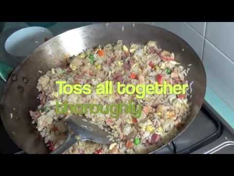 Copy of Special Yang Chow Fried Rice - 'Yang Zhou Chao Fan' with Shrimp