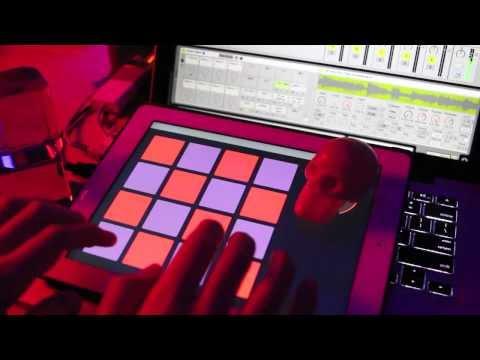 iPad MIDI controller: TouchOSC + Ableton Aaliyah drum machine