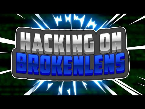 HACKING IN MCPE 1.2.7/1.2.8 BROKENLENS SKYWARS