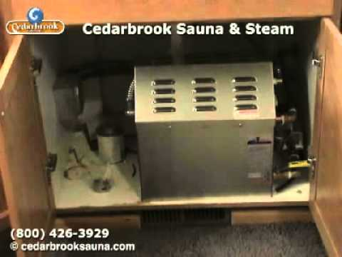 09 Build a Steamroom: Quick look at the steam generator