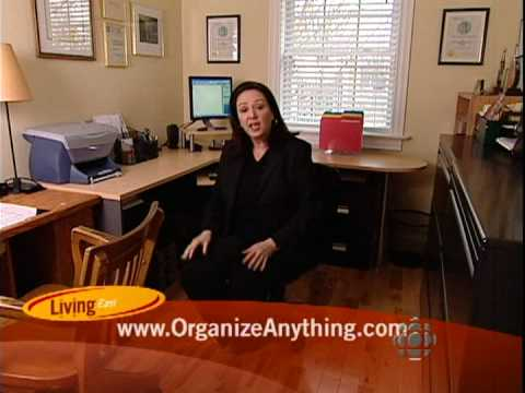 How To Create A Home Office Anywhere Small Office Space Organizer