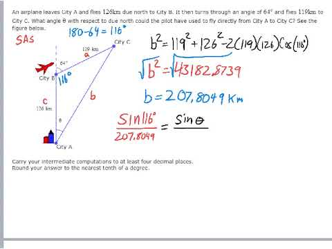 Modeling with Law of Cosines