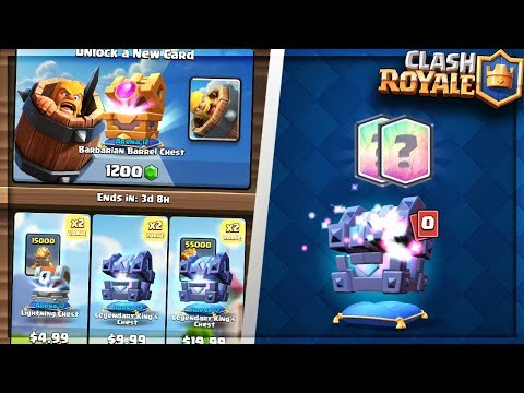 OPENING ALL EASTER PACKS! NEW SPECIAL BARBARIAN BARREL CHEST in CLASH ROYALE!