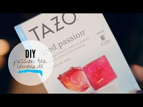 DIY: Starbucks Passion Tea Lemonade