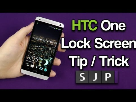 HTC One Tips & Tricks - Lock Screen Tip ?