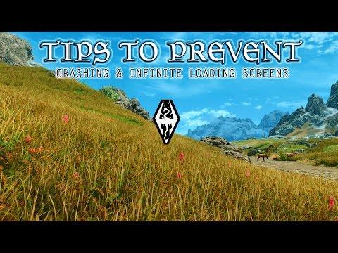 Skyrim - 5 Easy Tips to Prevent Crashing (Detailed)