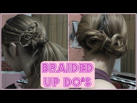 Two Braided Hair Styles   Laura Lanny