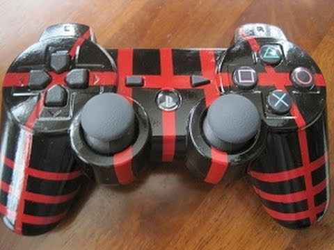 How To: Custom Paint Your Ps3 Controller!