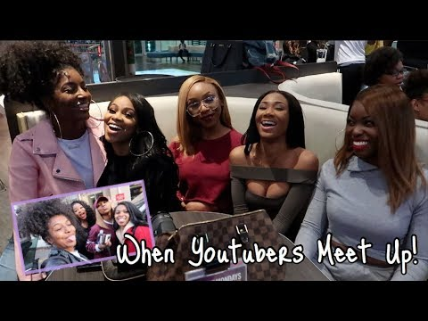 WHAT HAPPENS WHEN YOUTUBERS MEET!? | TRAVEL VLOG