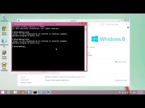 Compile and Run Java on Windows Command Prompt