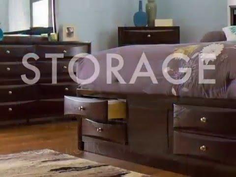 Underbed Storage Drawers | Welden Collection
