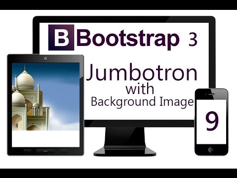 Using Bootstrap Jumbotron with Fixed Background Image