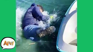 Gone OVERBOARD With the FAIL! 🤣   Funny Fails   AFV 2021