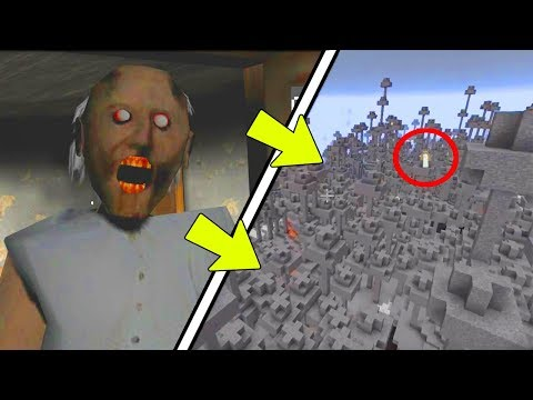 NEVER Play Minecraft GRANNY HORROR BIOME! (Haunted