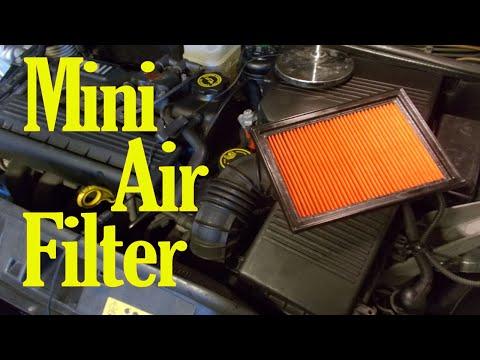 Mini air filter change