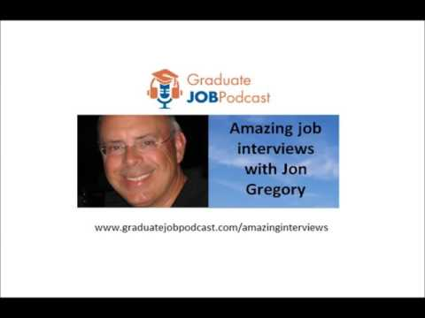 How to build rapport in a telephone job interview - Jon Gregory on the Graduate Job Podcast