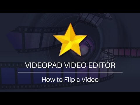 VideoPad Video Editing Tutorial   How to Flip a Video