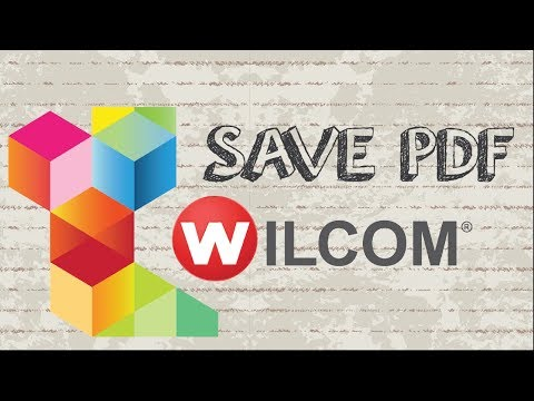 How to Save / Export Plot Sheet from Wilcom Embroidery Studio to PDF file