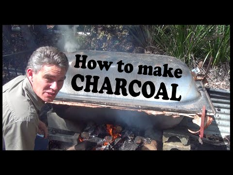 How to make charcoal for barbecue at home yourself