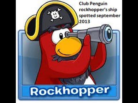 Club Penguin Rockhopper spotted at telescope september 2013