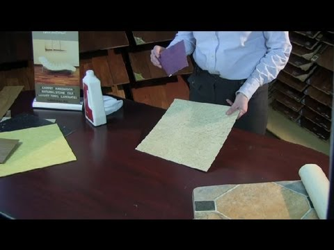 How to Fix a Burn on Vinyl Flooring : Vinyl Flooring