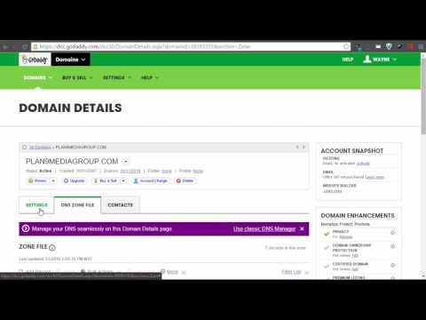 How to Change GoDaddy DNS server