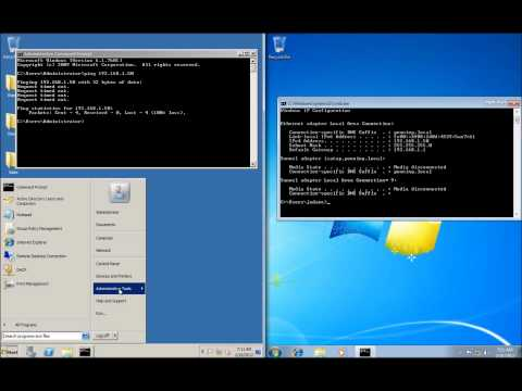 Server 2008 Lesson 18 - Enabling Ping Requests to Clients Using Group Policy