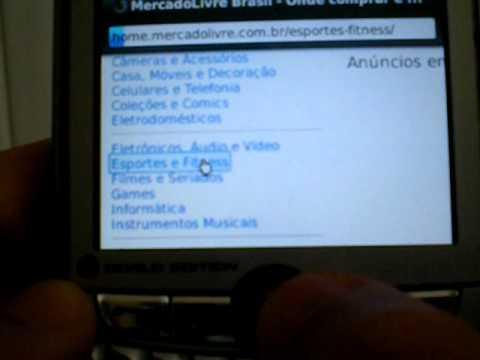 Blackberry 8830 World Edition Funciona com Pacote de Dados Normal