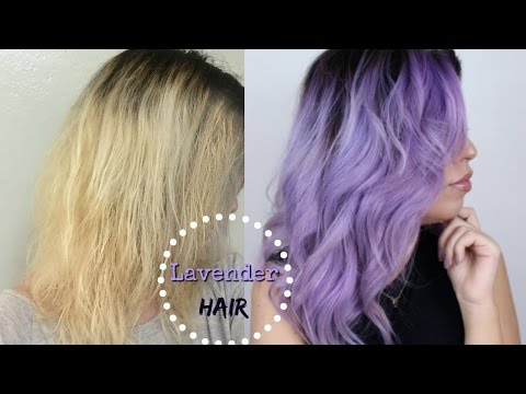 HOW TO: LAVENDER/ PASTEL HAIR COLOR