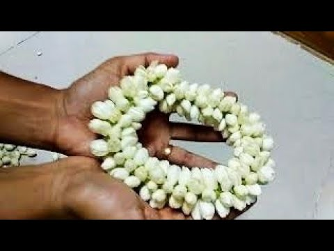 Garland Design with Jasmine Flower