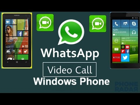 Whatsapp video call in windows phone