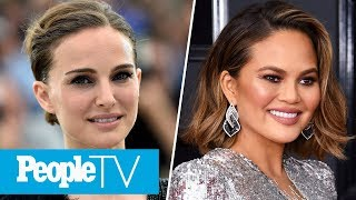 Natalie Portman Brought Son To Star Wars Set, Chrissy Teigen Opens Up About Future Babies | PeopleTV