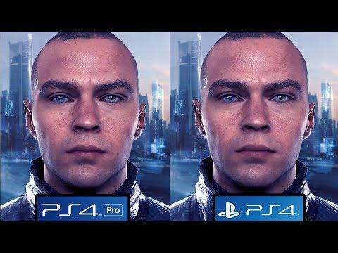 Detroit: Become Human - PS4 vs PS4 Pro Graphics Comparison [4K/60FPS]