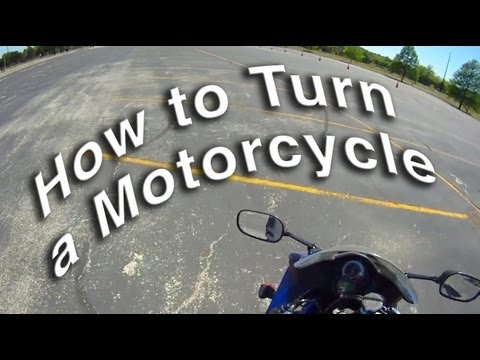 How to Turn a Motorcycle - Counterweight vs Countersteering