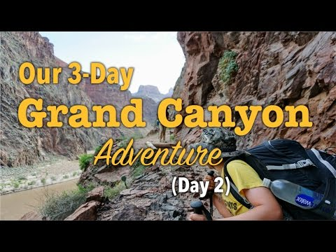 Family Backpacking Trip in the Grand Canyon - (Day 2) Bright Angel Campground to Indian Gardens