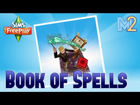 Sims FreePlay - Book of Spells Quest + Magical Hobbies (Tutorial and Walkthrough)