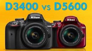 Nikon D3400 vs D5600