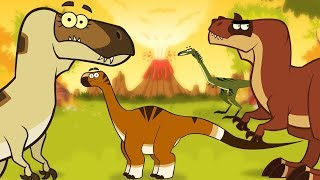 Download Which dinosaurs lived 100 million years ago? | Learn Dinosaur Facts | I'm A Dinosaur!!! Video