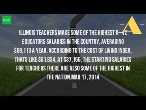 What Is The Average Salary For A Teacher In Illinois?