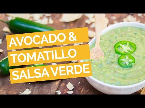 Avocado & Tomatillo Salsa Verde Recipe