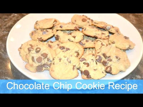 Chocolate Chip Cookies Recipe with Audrey