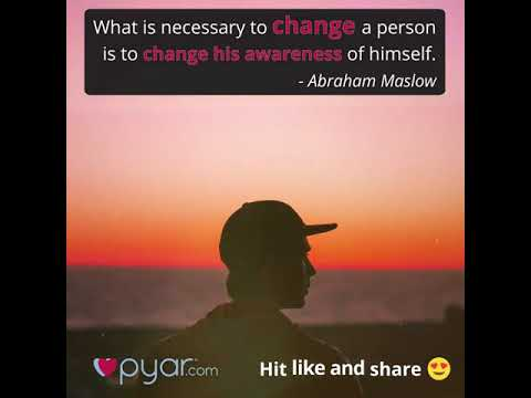 Changing a Person