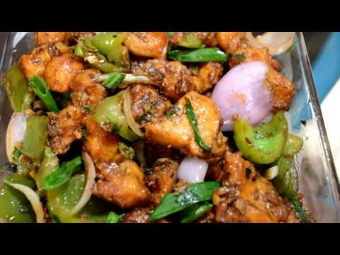 Restaurant Style Chilly Chicken Dry - Spicy Indian Recipe