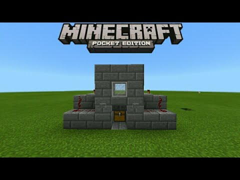 How To Make a Chicken Cooker | Minecraft Pe | Tutorial